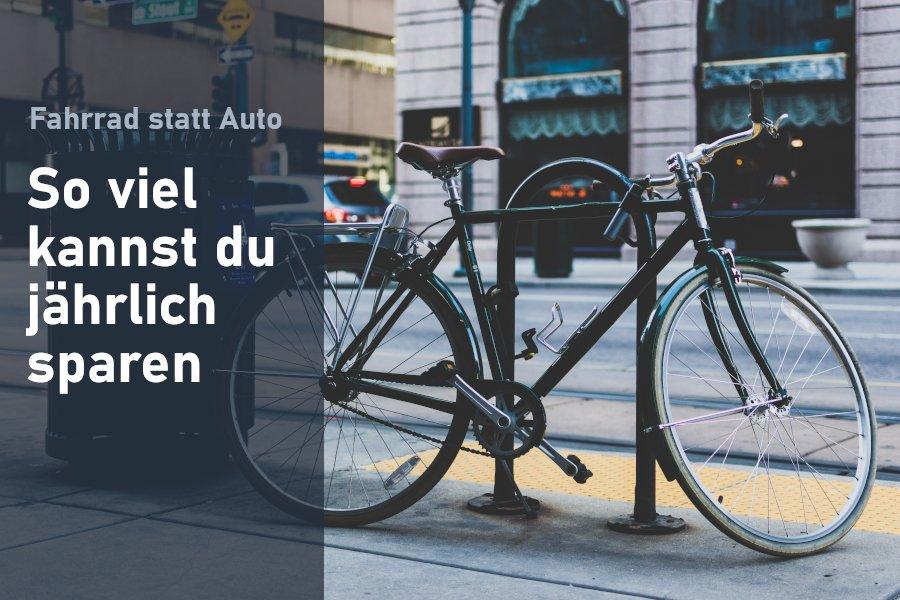 Fahrradfahren statt Auto