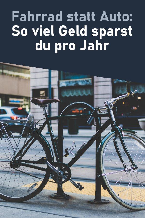 Fahrrad statt Auto