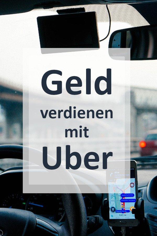 Geld verdienen mit Uber