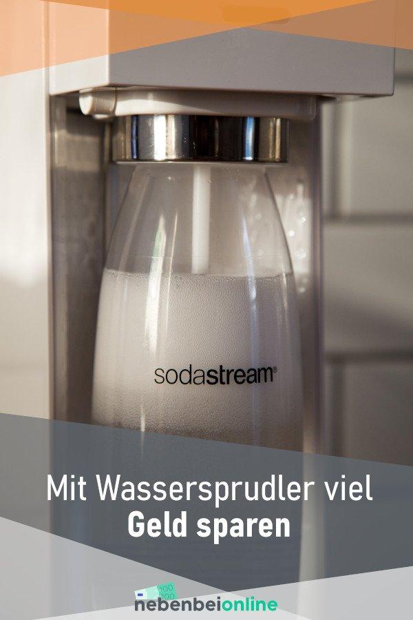 Mit Sodastream Wassersprudler Geld sparen
