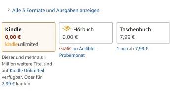 Verschiedene Versionen des eBooks