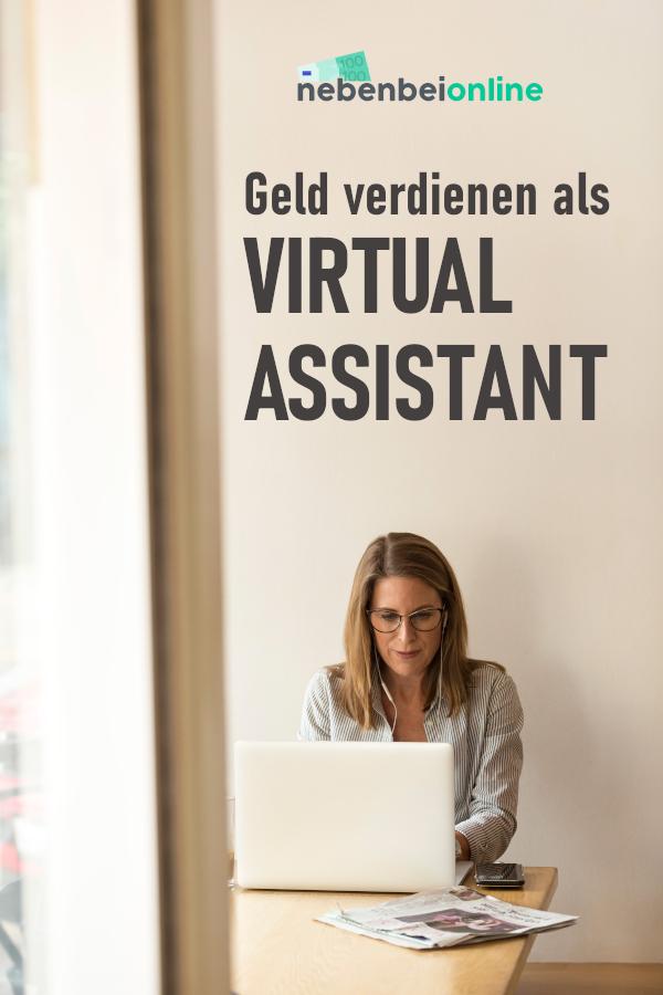 Geld verdienen als Virtual Assistant