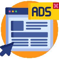 Werbung und Banner auf Nischenseiten