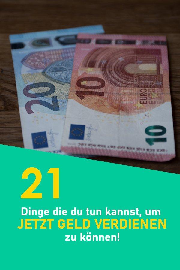Jetzt Geld verdienen