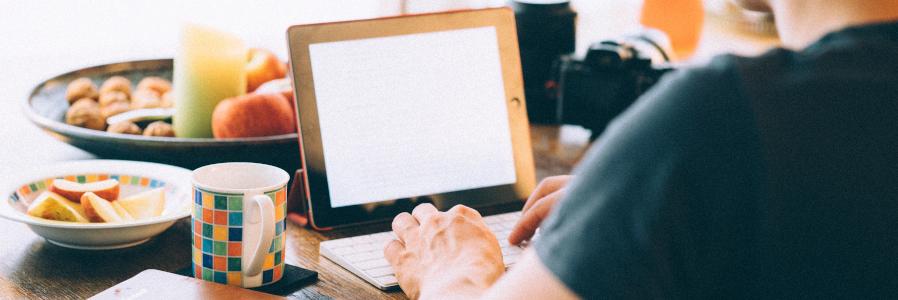 Von Zuhause aus Texte schreiben