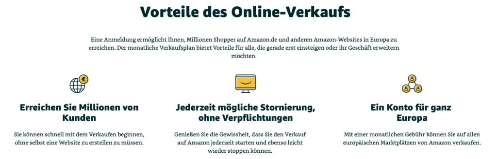 Amazon FBA Anmeldung und Vorteile