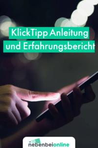 KlickTipp Anleitung
