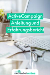 ActiveCampaign Anleitung und Erfahrungsbericht